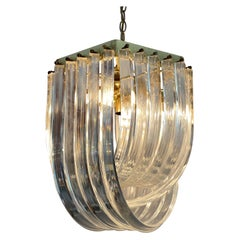 Molded Lucite Cascading Fixture