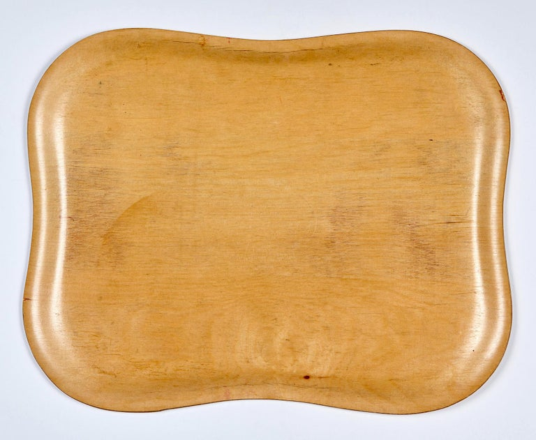 Scandinavian Modern Molded Plywood Trays by Tapio Wirkkala For Sale