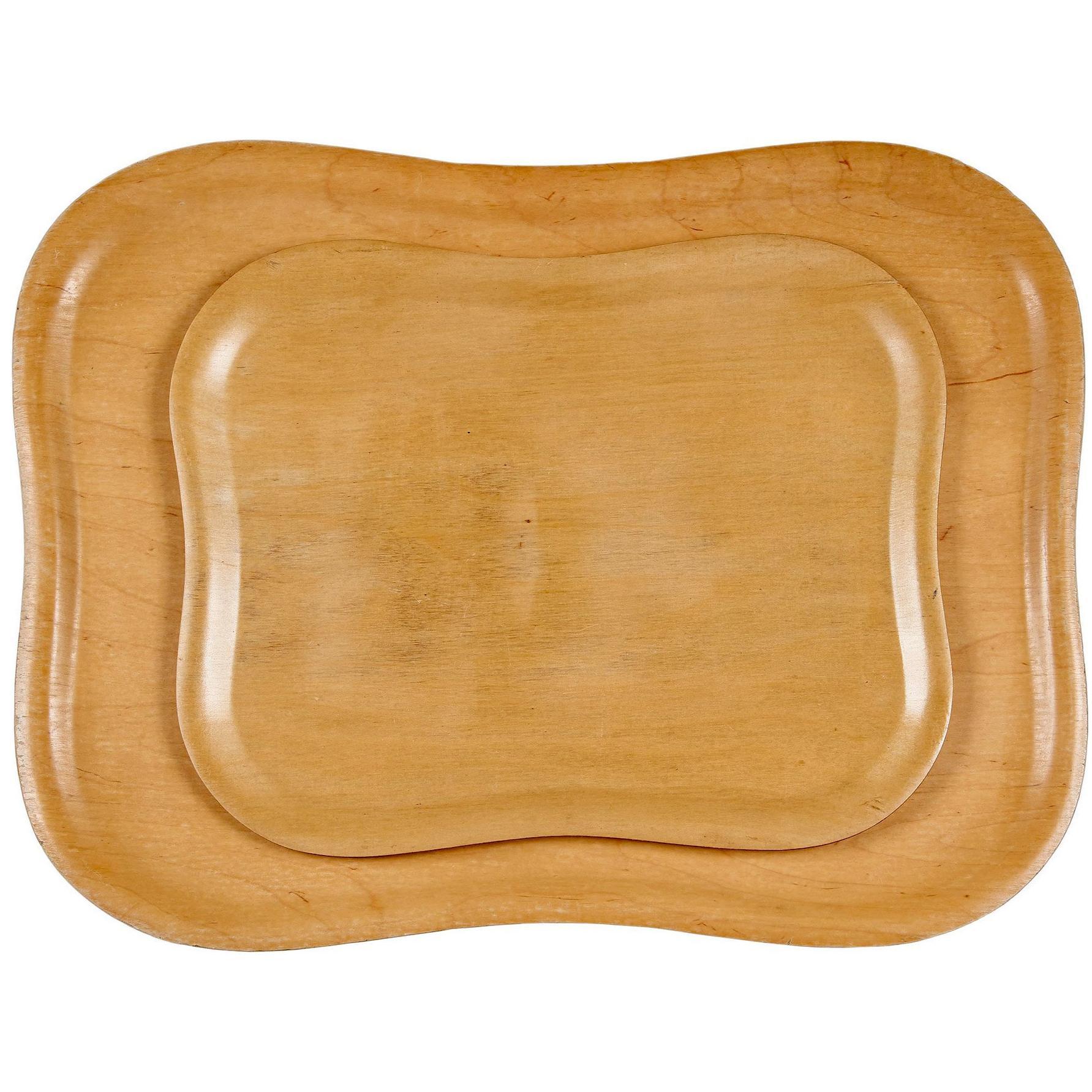 Molded Plywood Trays by Tapio Wirkkala