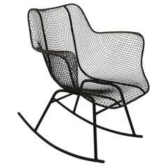 Molded Rocker Armchair by Russell Woodard