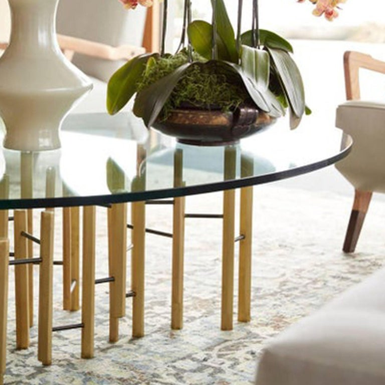 American Molecular Cocktail Table For Sale