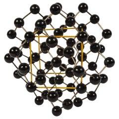 Molecular Structure of a Diamond Czechoslovak Manufacture, 1950s
