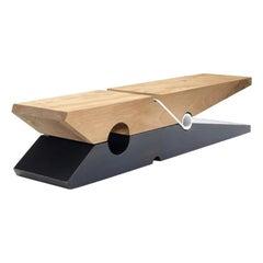 Mollettawood and Iron, Designed by Baldessari & Baldessari, Made in Italy