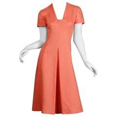 Mollie Parnis Vintage Dress; 1960s