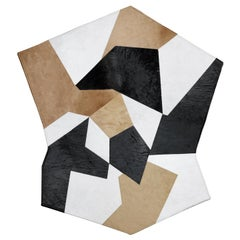 Molteni&C D.754.1 Pony Leather Rug in Multi-Color by Gio Ponti