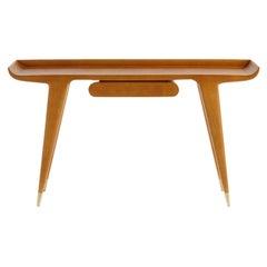 Molteni&C D.847.1 Writing Desk deisgn Gio Ponti in Solid Ash Wood