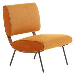 Molteni&C Gio Ponti Round D.154.5B Chair in Rusty Chenille