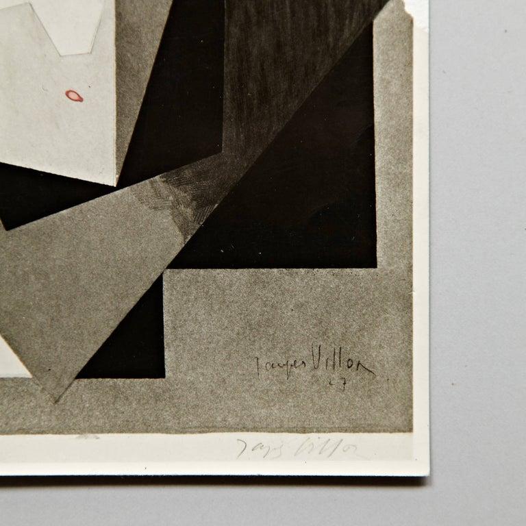 Moma Photography of Jacques Villon Composition by Soichi Sunami, circa 1950 For Sale 9