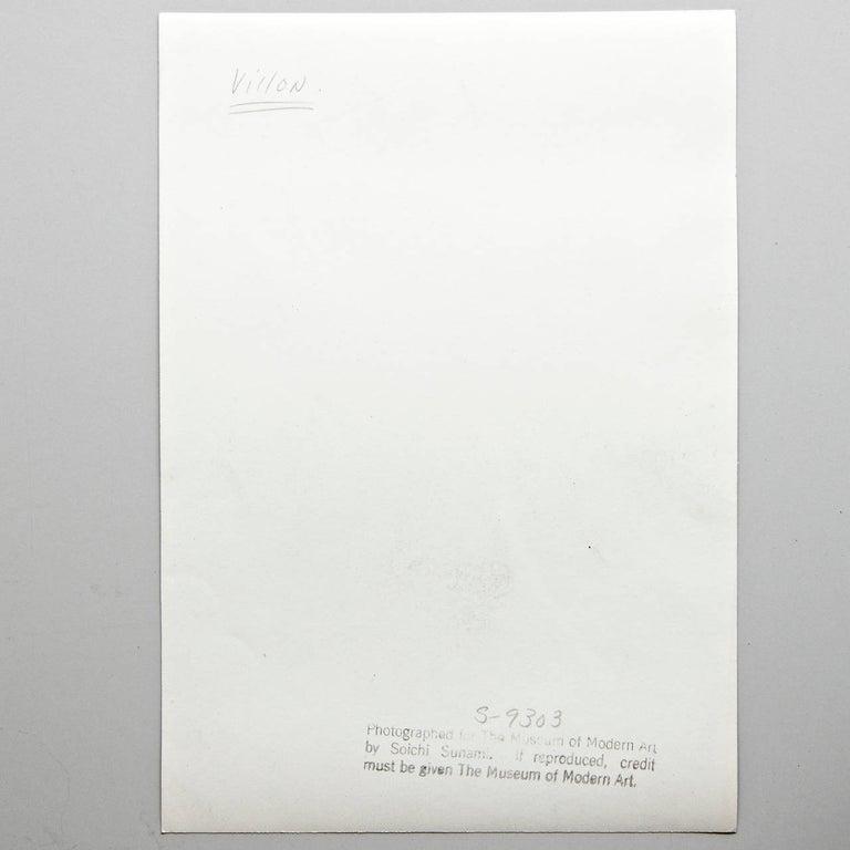 Moma Photography of Jacques Villon Composition by Soichi Sunami, circa 1950 For Sale 10