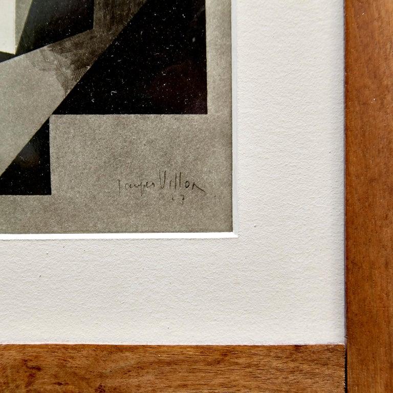 American Moma Photography of Jacques Villon Composition by Soichi Sunami, circa 1950 For Sale