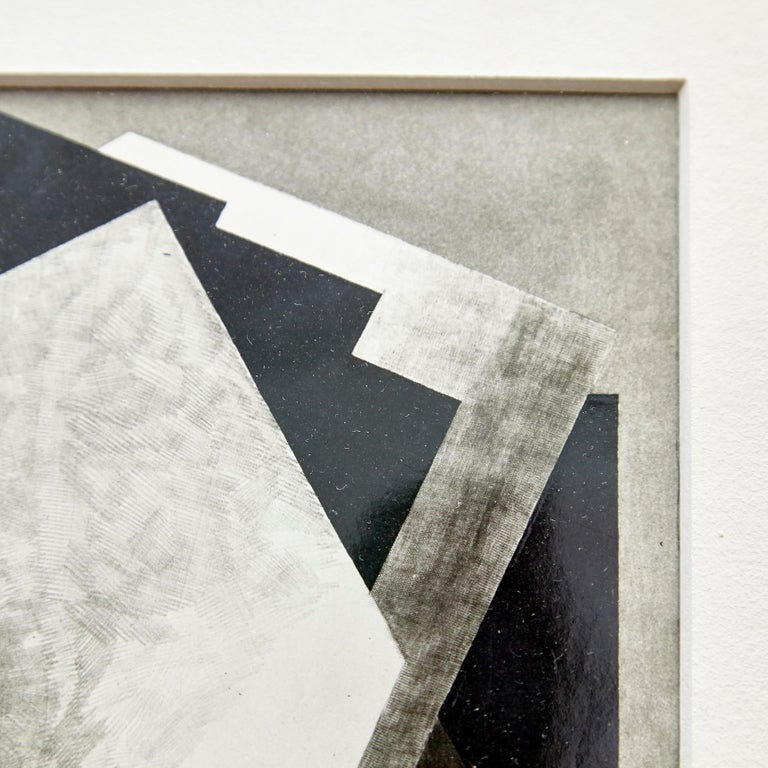 Moma Photography of Jacques Villon Composition by Soichi Sunami, circa 1950 In Good Condition For Sale In Barcelona, Barcelona