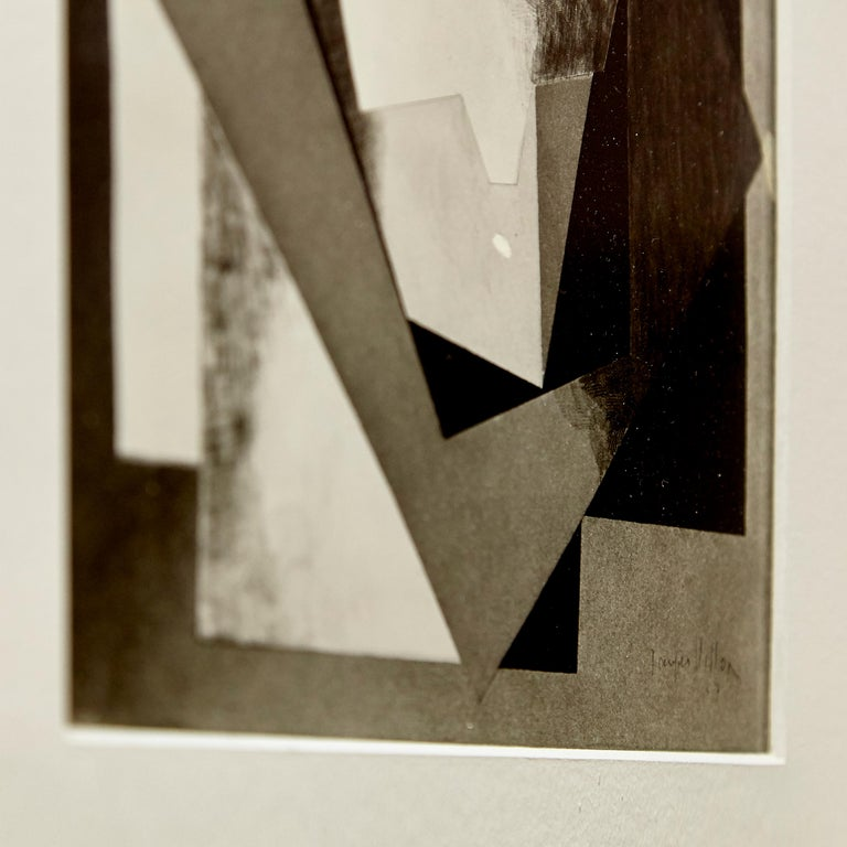 Paper Moma Photography of Jacques Villon Composition by Soichi Sunami, circa 1950 For Sale