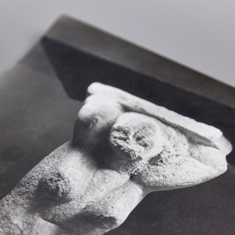 Photography taken Soichi Sunami for The Museum of Modern Art (MOMA) of a Sculpture by Amadeo Modigliani.   Is stamped in the back as shown in the photos.  Description on back.  Amedeo Clemente Modigliani, (1884–1920) was an Italian painter and