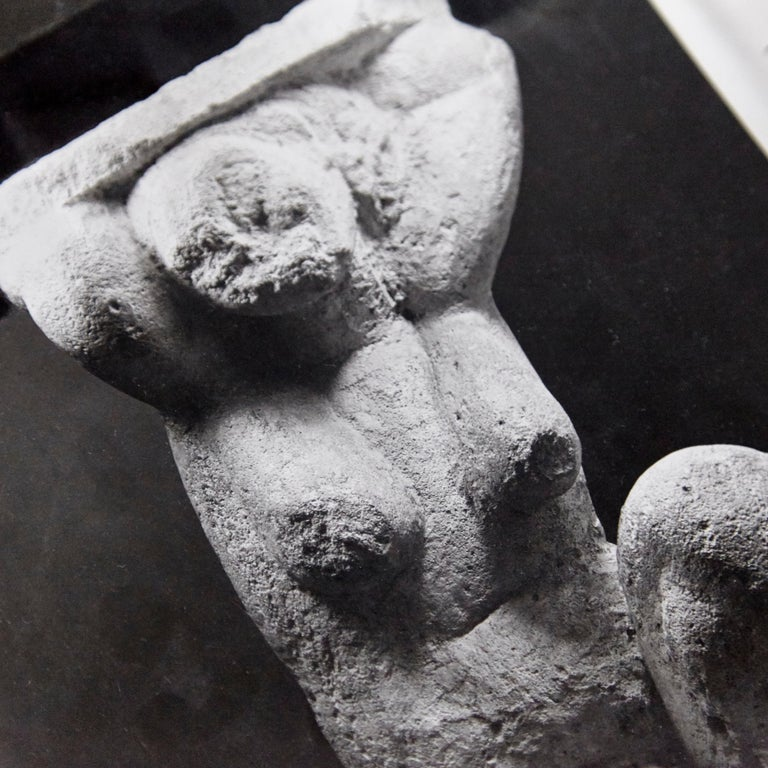 Mid-Century Modern MOMA Photography of Modigliani Scultpure by Soichi Sunami, circa 1950