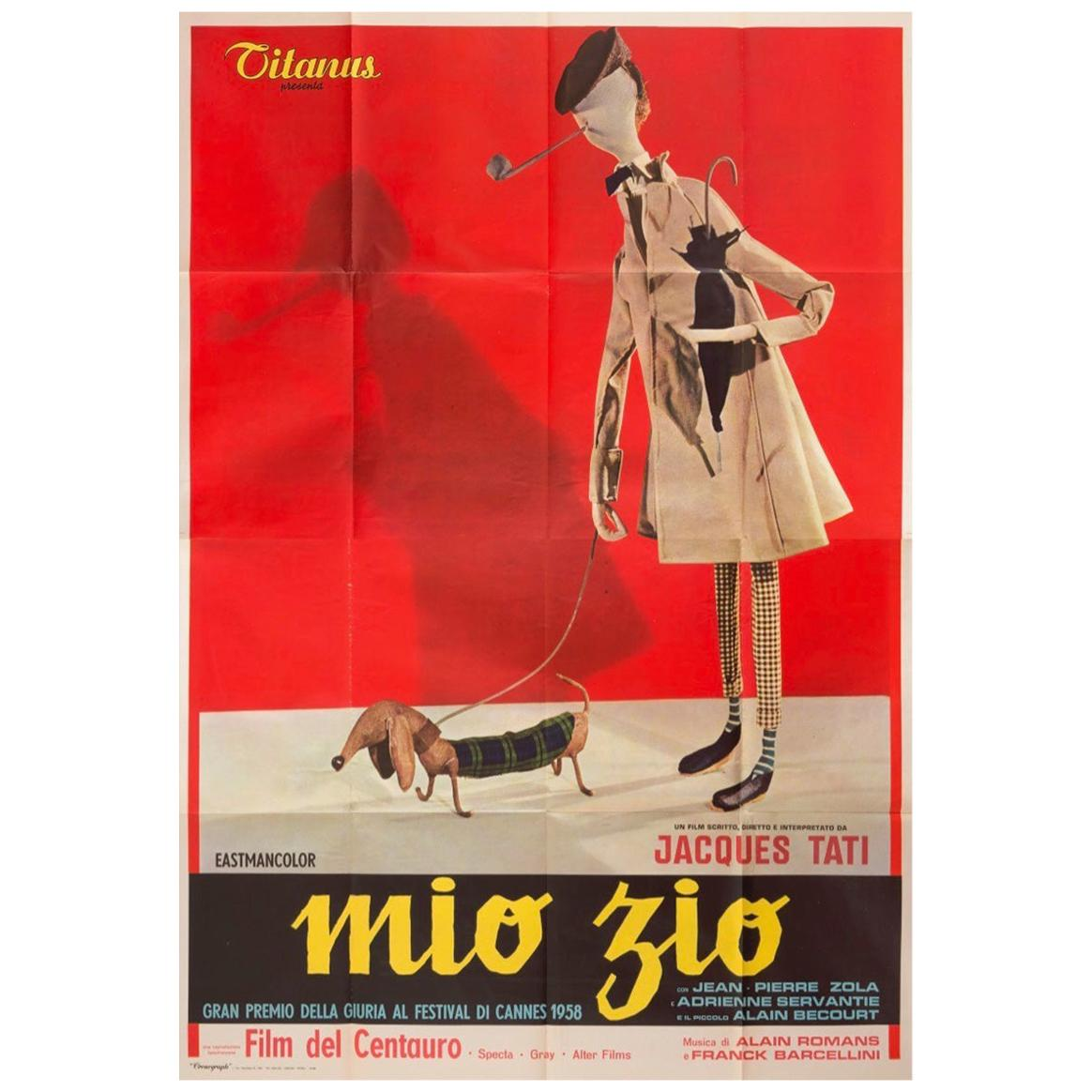 Mon Oncle (1958) Poster