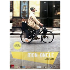 """""""Mon Oncle"""" R2013 French Grande Film Poster"""