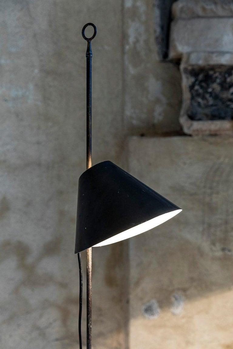 Monachella Floor Lamp by Luigi Caccia Dominioni For Sale 3