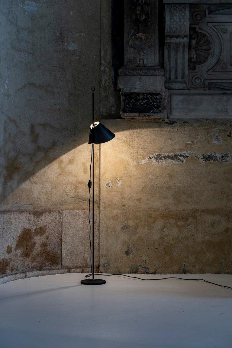 Mid-Century Modern Monachella Floor Lamp by Luigi Caccia Dominioni For Sale
