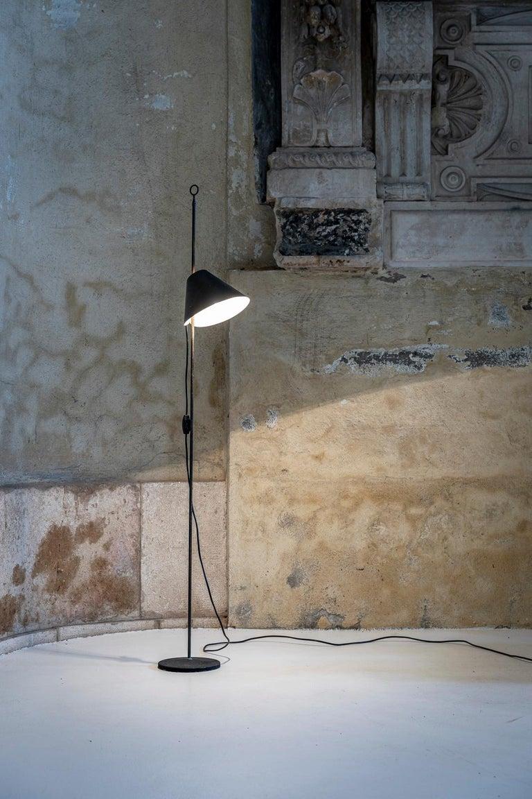 Mid-20th Century Monachella Floor Lamp by Luigi Caccia Dominioni For Sale