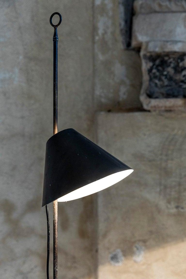 Monachella Floor Lamp by Luigi Caccia Dominioni For Sale 2