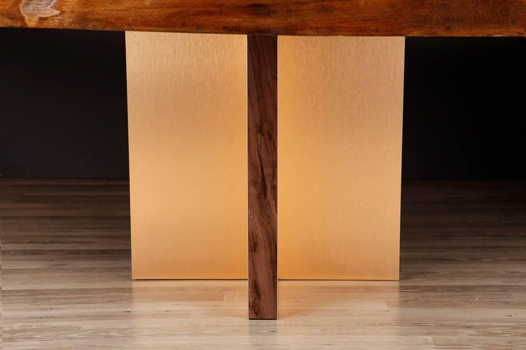 Monarch Extra Large Slab Dining Table by Studio Roeper For Sale 3