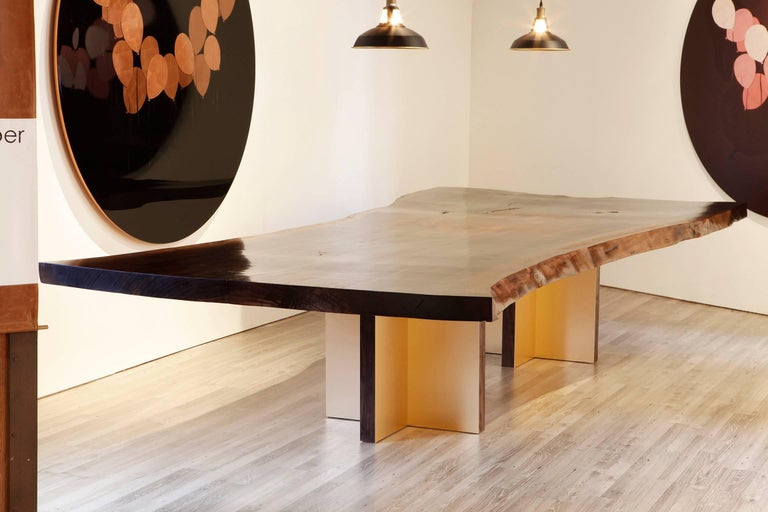Monarch Extra Large Slab Dining Table by Studio Roeper For Sale 4