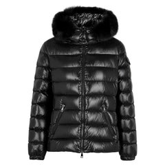 Moncler Badyfur Fur-Trimmed Quilted Shell Jacket