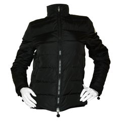 Moncler Black Serica Down Puffer Jacket sz 2/ Medium