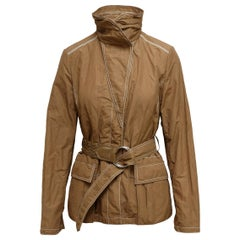 Moncler Brown Lightweight Jacket
