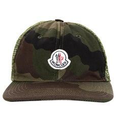 Moncler Camouflage Woven Baseball Cap Hat