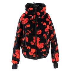 Moncler Genius Grenoble floral-print down jacket  NEW SEASON
