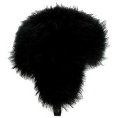 Moncler Grenoble Fox Fur Trimmed Trapper Hat