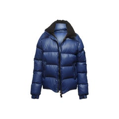 Moncler Navy Down Puffer Jacket