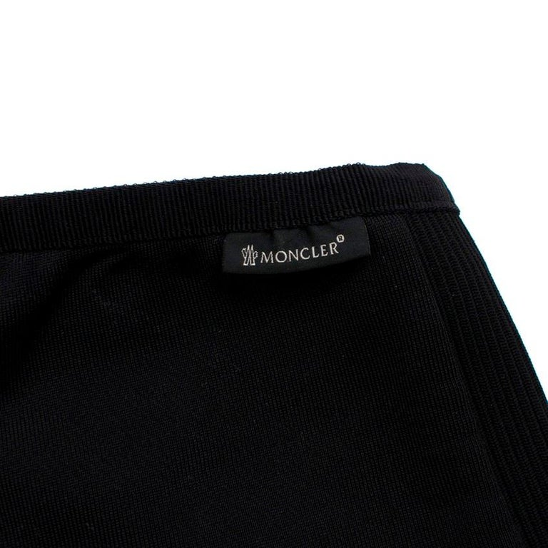 Moncler Ribbed Skinny Trousers	 XS In Good Condition In London, GB