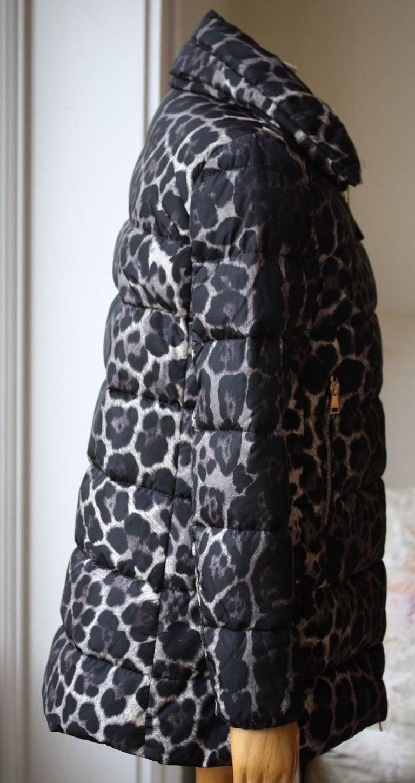 Women's Moncler Torcelle Leopard-Print Puffer Jacket