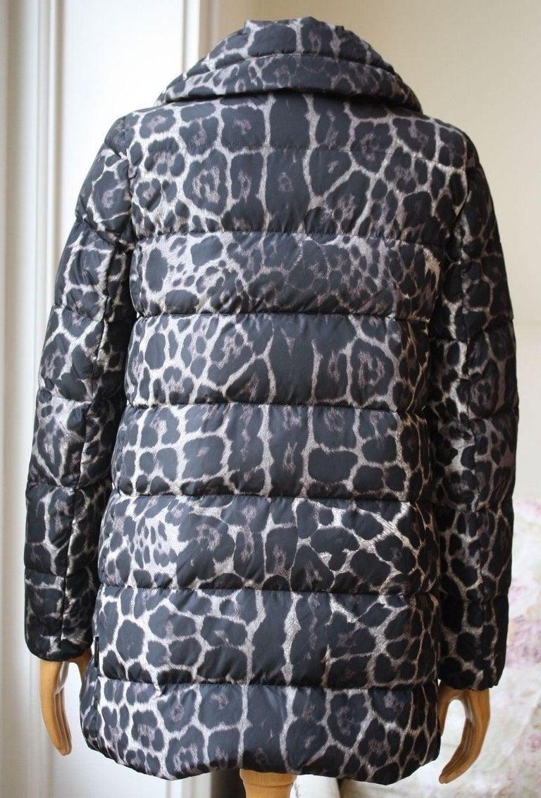 Moncler Torcelle Leopard-Print Puffer Jacket  1