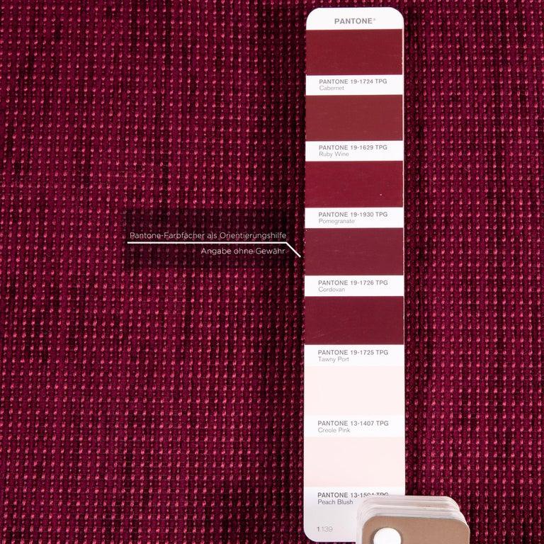 Mondo Fabric Corner Sofa Electrical Function Purple Berry Relax Function Sofa 1