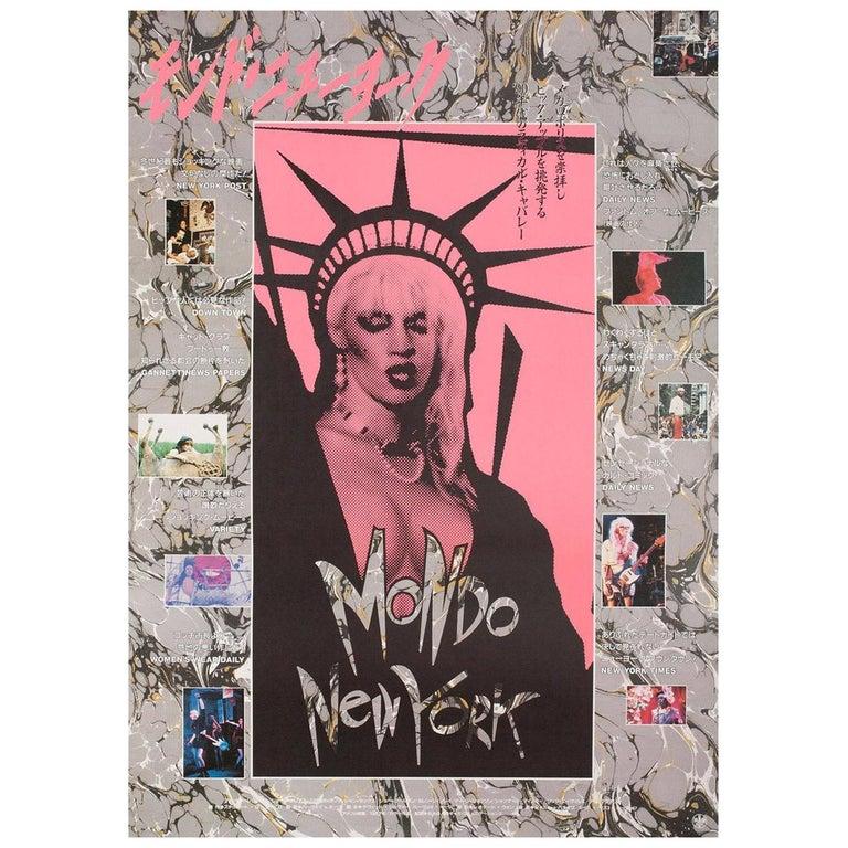 Mondo New York 1988 Japanese B2 Film Poster For Sale