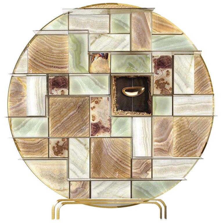 Mondrian Bookcase by Livio Ballabio For Sale