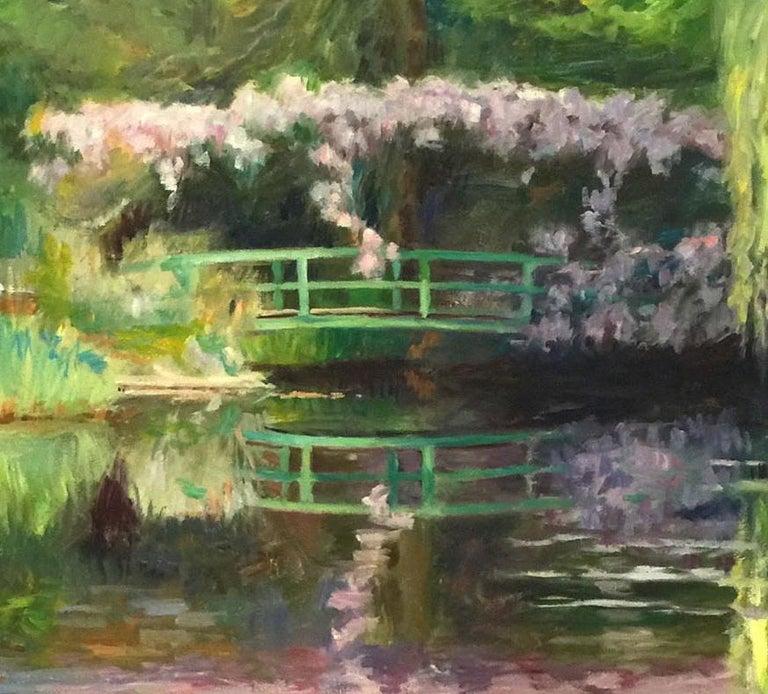 Beaux Arts Monet's Bridge by Laurent Dareau For Sale