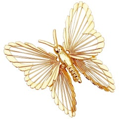 """""""Monet's Menagerie"""" Butterfly Brooch From The Spinneret Series By Monet, 1960s"""