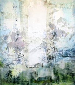 Contemporary American Abstract Expressionist Landscape Painting Japanese screen