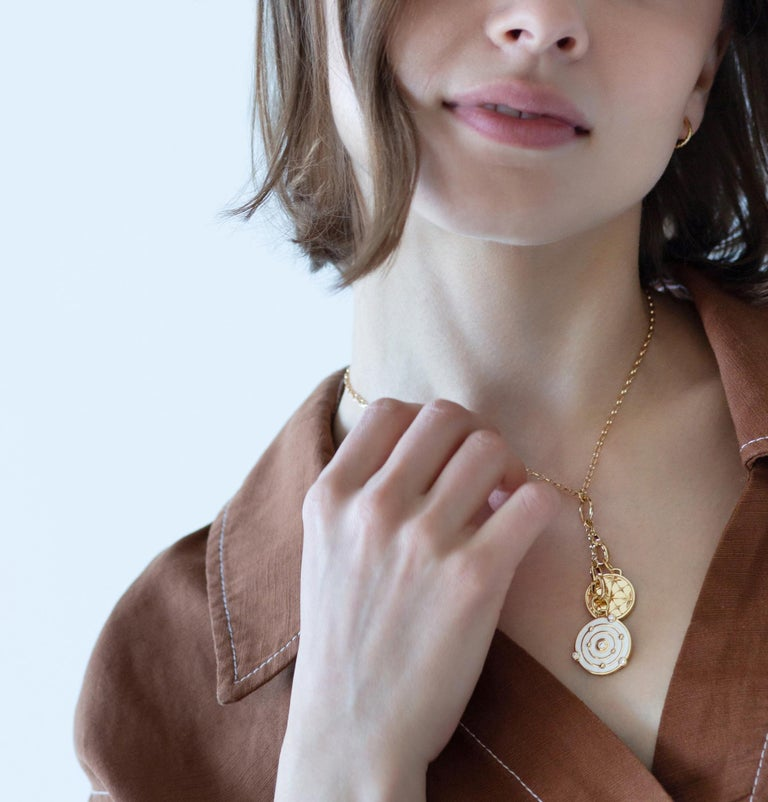 Design your own charm necklace and tell your story.  This Monica Rich Kosann new charm chains allow you to create a personalized charm necklace by adding the charms you love - whether they are ours or charms you have collected over the years. The