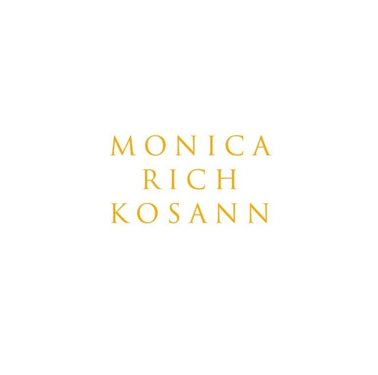 Monica Rich Kosann 18 Karat Gold Sun Moon and Stars Lapis Crescent Moon Necklace In New Condition For Sale In New Cannan, CT