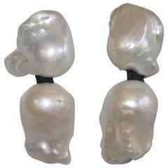 Monies Baroque Freshwater Pearl Clips