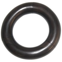 Monies Ebony Wood Elastic Bangle