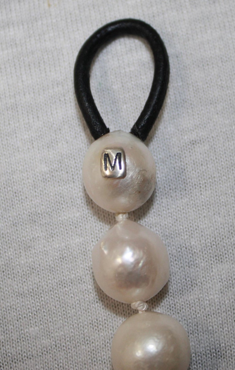 Women's or Men's Monies Unique Baroque Freshwater Pearl Long Strand For Sale
