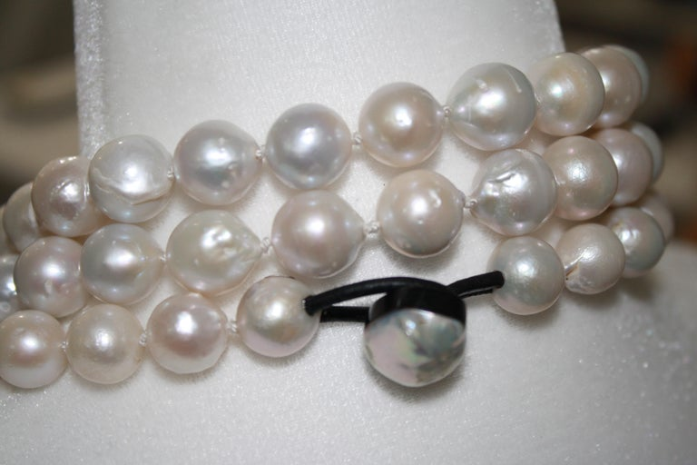 Monies Unique Baroque Freshwater Pearl Long Strand For Sale 1