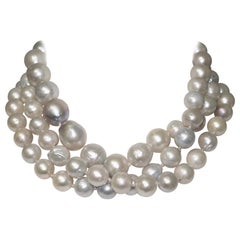 Monies Unique Baroque Freshwater Pearl Long Strand
