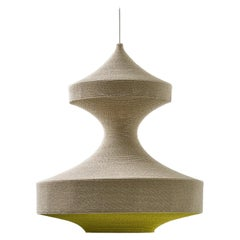 Monika Ø80cm / 31.5in. Pendant Light, Hand Crocheted in 100% Egyptian Cotton